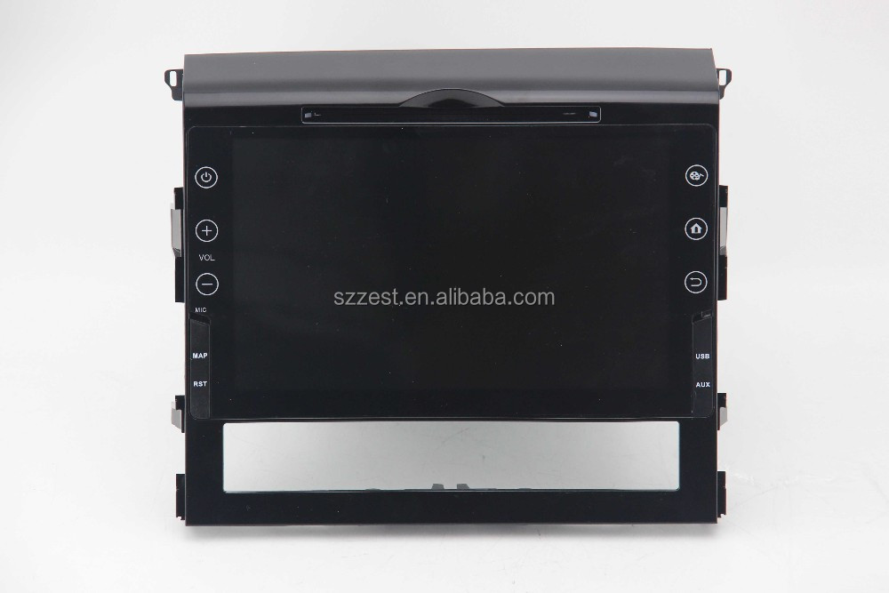 12.1 inch 2 din android 5.1 4 core android car dvd for toyota Land Cruiser wifi/3G/dual model/
