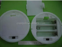 Circular Type AA Battery Holder With Switch And Lid For Three AA Battery