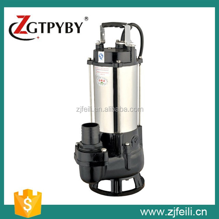 EP Series Centrifugal Submersible Water Pump Specifications