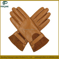 Nice quality suede and sheepskin leather dress glove manufacturers