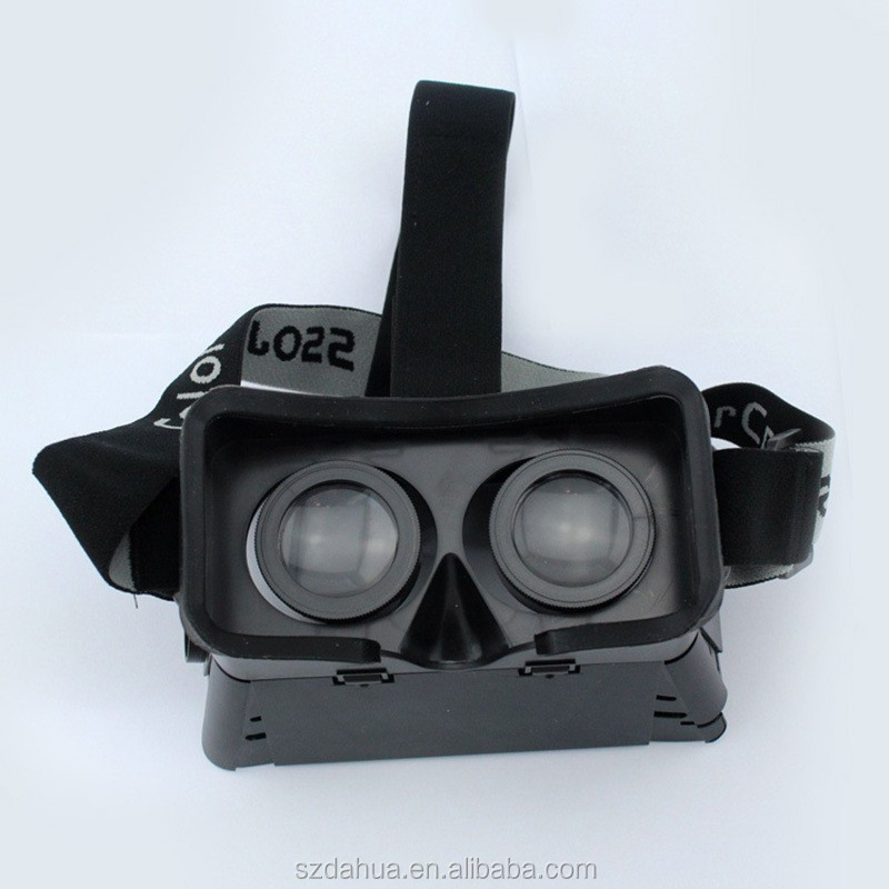 2015 new product ,Plastic Virtual Reality Video google cardboard vr