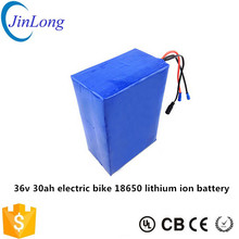 30Ah 36v electric bike battery 18650 lithium ion battery pack for electric vehicle