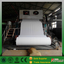 Best sell Tissue and hemp toilet paper recycline making machine in korea