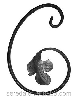 C style and Well Received Wrought Iron Products Decorative Scrolls