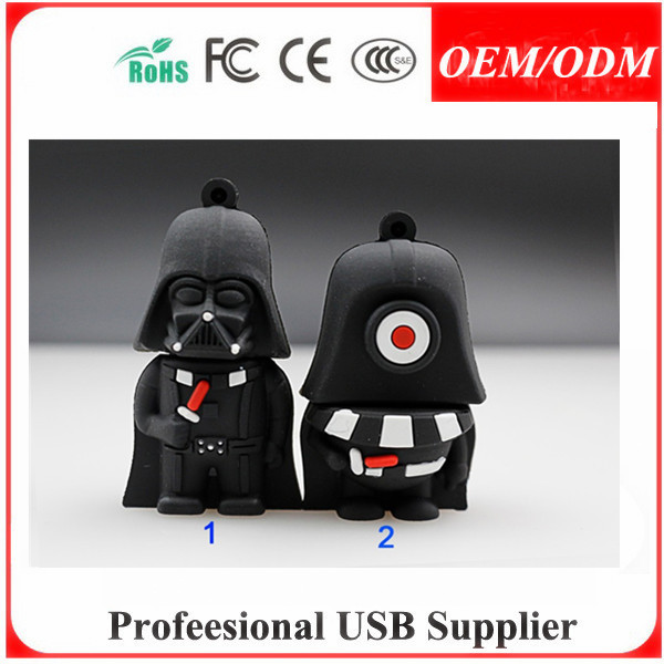 3d customized pvc cartoon usb flash drive gadget usb flash drive in dubai , promotional gift for neck straps