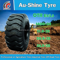 bias otr tires 1600x25 E3/L3 for loader,dozer