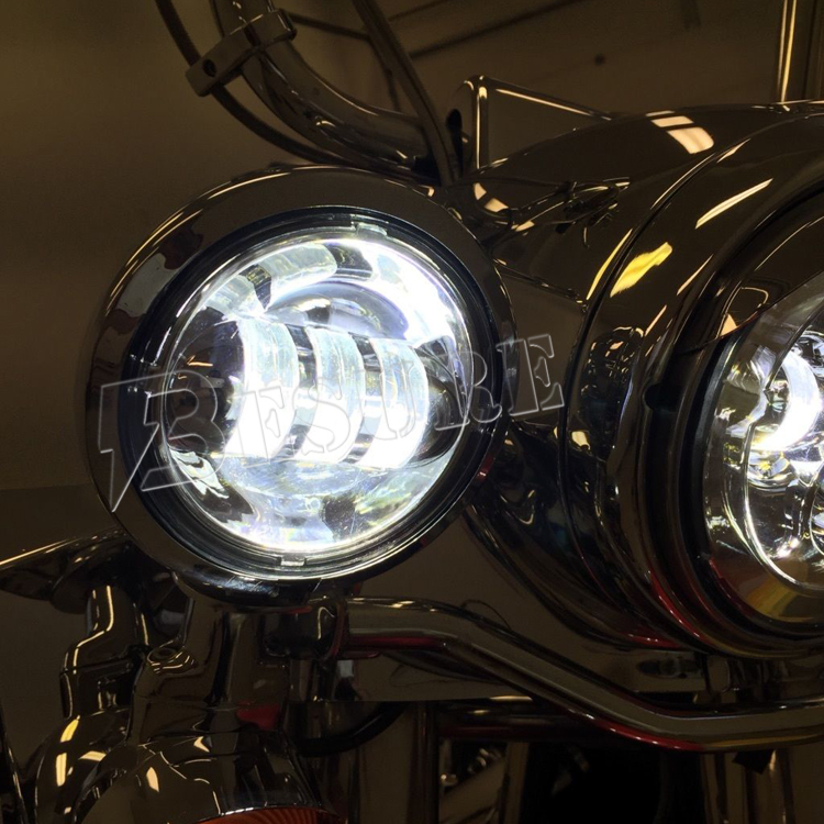 Auto Llight Parts Dust Proof Headlights For Harley Davidson