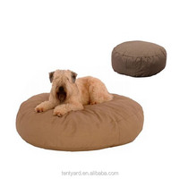 high end comfortable stuffed animal beanbag beds, round shape pet beds outdoor bean bag dog beds