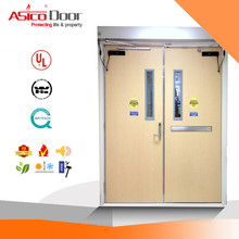 ASICO UL Listed 1 2 3 Hour Fire Rated Glass Door With Full Set UL Hardware