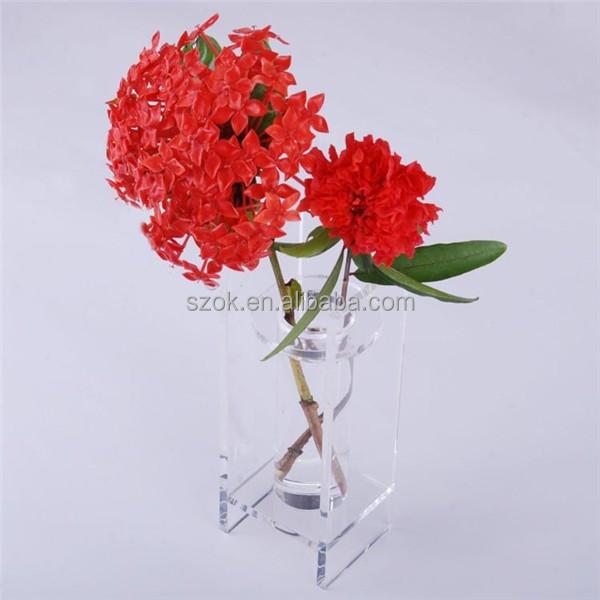 Acrylic Vase Home Decorationyuanwenjun