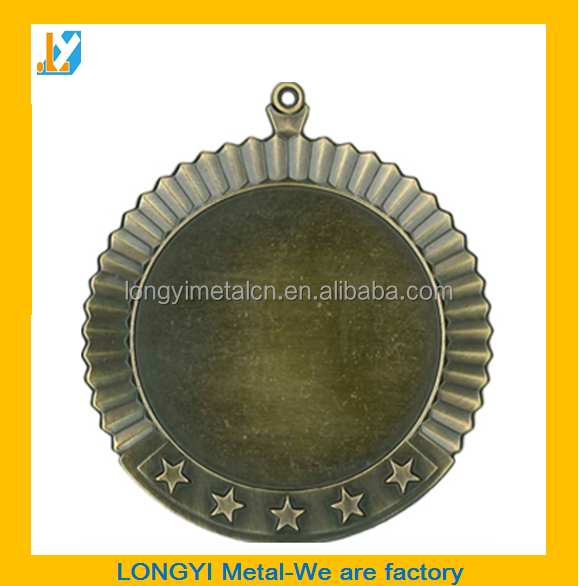 High quality blank metal medal blanks