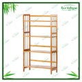 4 tiers Bamboo bookcase