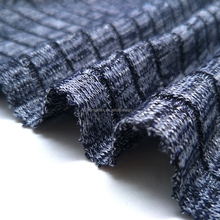 Top selling polyester cotton plaid knitted fabric