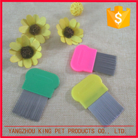 Animal grooming products perfect use customized dog comb pet lice clean