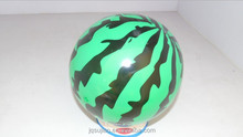 Hot Sale China Solid Bulk Rubber Jumping Ball , kids outdoor toys , watermelon shaped bouncy ball