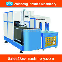 small PET plastic stretch SEMI-AUTOMATIC blow molding machine for bottles
