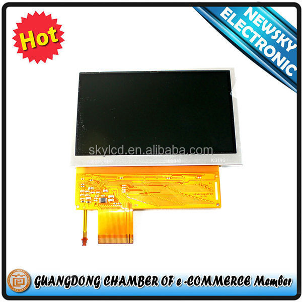 Low price repair parts lcd screen display for psp e1004/ 1000