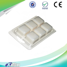 High quality wax melts clamshell packaging, tart clamshell containers