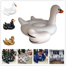 ISO,BSCI,GSV,ICTI,Disney Audited factory made PVC inflatable swan