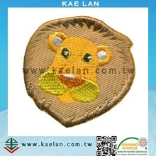 Cute animal clothes baby patches for clothing embroidery patch