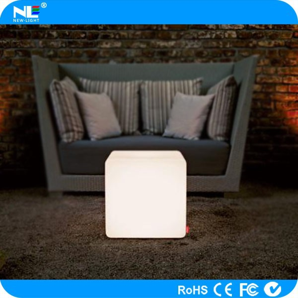 Colorful led bar furniture,led cube chairs use to Party, Hotel, Home, Night club, Wedding, led cube 3d