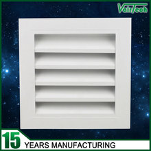 HVAC system air conditioning ventilation fresh air louver return air grille