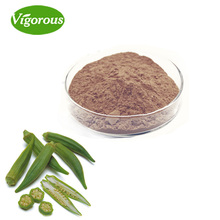 Free sample okra extract Abelmoschus esculentus L. powder High quality okra extract powder 10:1