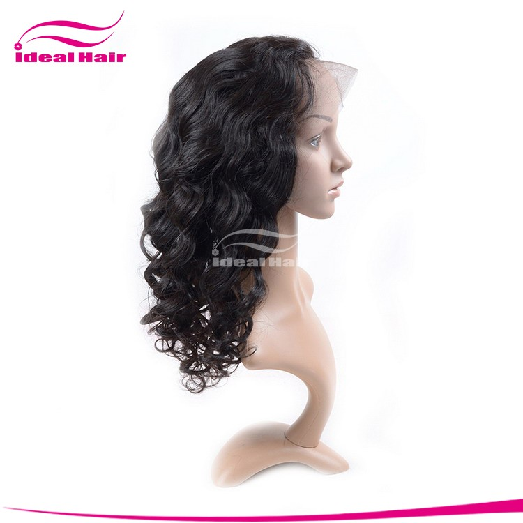 alibaba Vendors virgin unprocessed style 100% virgin brazilian hair full lace wig