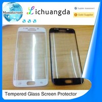 3D curved tempered glass screen protector for samsung galaxy S6 edge