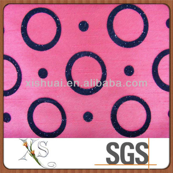 Wholesale Upholstery Flocked Fabric For Sofa