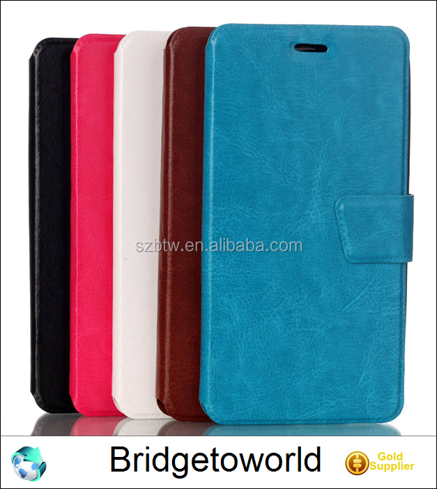 For Motorola Moto G4 Leather Case for MOTO G4 Book Style Flip Cover Wallet Card Slots