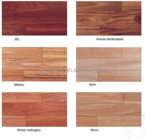 Natural Maple Engineered Wood Flooring for Sport Playground