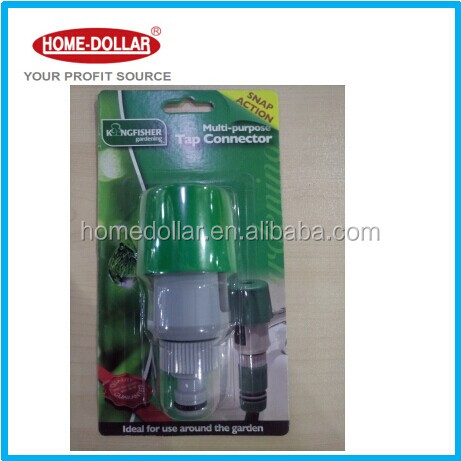washing machine hose connector garden hose tap connector/Quick Coupling Plastic Barbed Tap Garden Hose Connectors