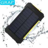 Shenzhen cheap price 10000 mah portable waterproof power bank yellow