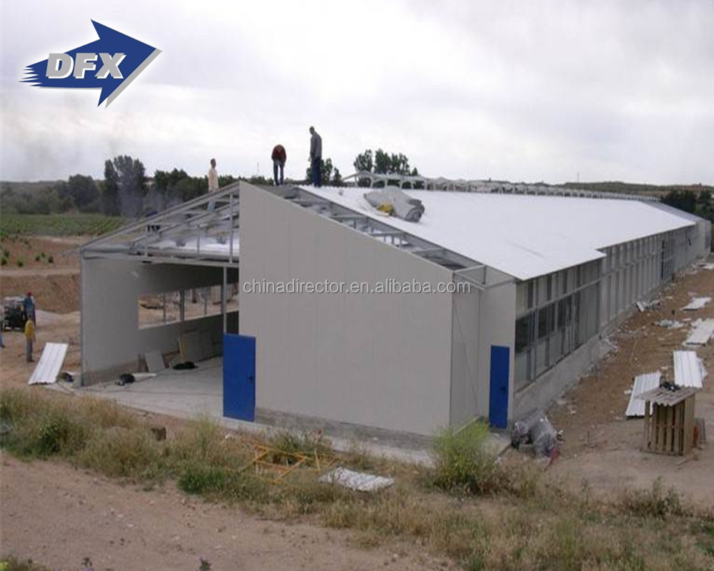 Commercial Pre Fabricated Made Poultry Chicken House