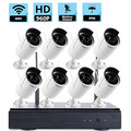 NEW Product !!! wifi 2p2 wireless ip camera kit 8CH NVR Multifunction Digital CCTV ip cam NVR KIT