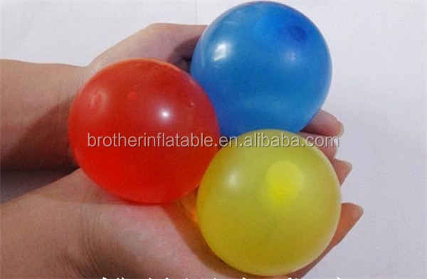 Manufacture High quaility self sealing Magic ballons 100 water balloons balloons