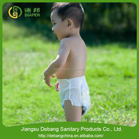 2015 news style Disposable baby pink disposable diapers