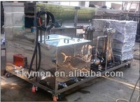 2000L marine engine parts ultrasonic cleaner with oil filter system and motor drive lift