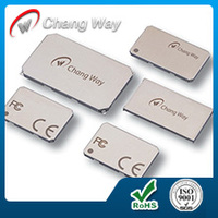 0.15mm mobile silver nickel RF shielding laser marking shielding ase/shield cover/screening can fence & frame