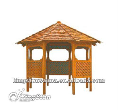 Ext rieur en bois bar gazebo pas cher spa pavillon chine belv d re id de - Spa exterieur pas cher ...