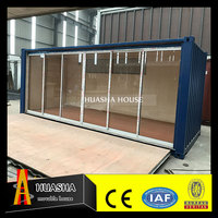 2017 steel frame prefab office container house