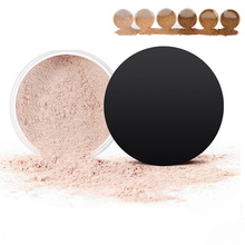 China Suppliers New Private Label Hot Selling High Quality 6 Color No Logo Single Matte Face Loose Powder Makeup Foundation