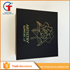 Best China Factory Production Fancy Black Empty Decorative Christmas Gift Box