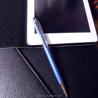 hot sell crystal charming pen for touch screen