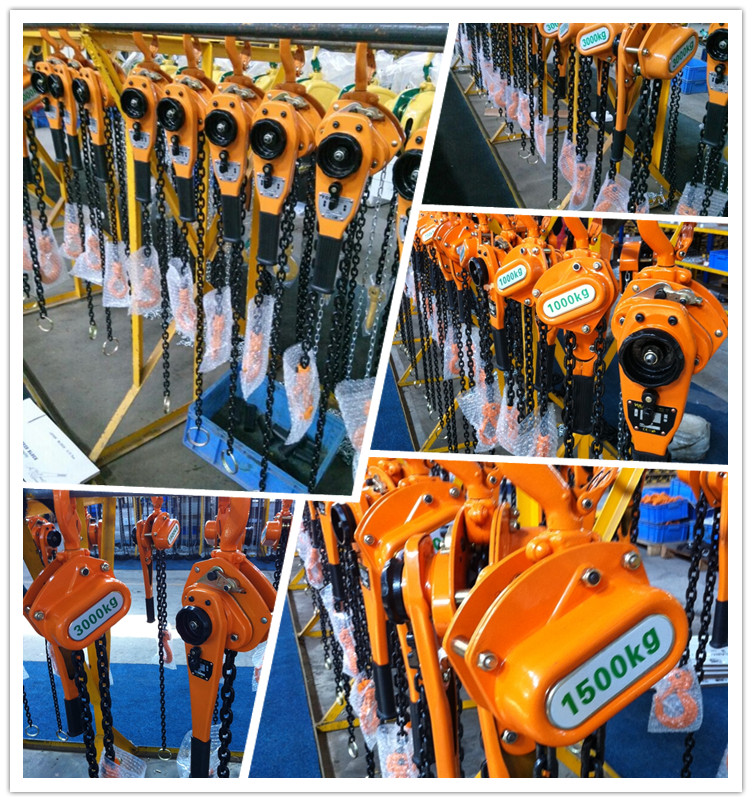 ALLMAN manual lifting equipment kito type portable manual lever hoist