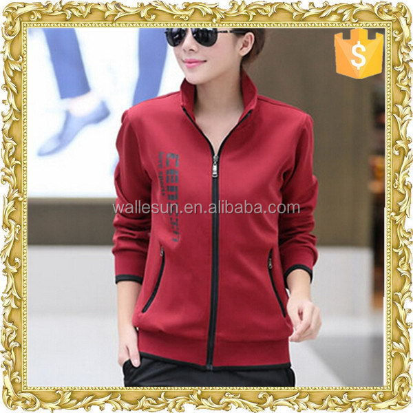 Newest cotton polyester wholesale stylish winter jacket for women