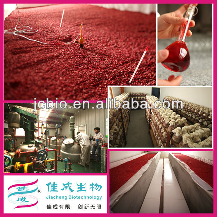 food supplement raw material red koji rice