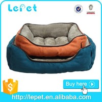 faux suede+anti-skid cloth strong pet bed for dog sofa style