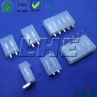 4.20mm pitch single row 3 pin natural electrical wire male connector